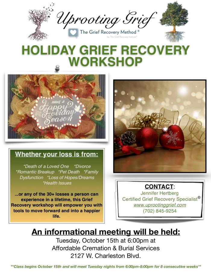 Holiday Workshop Flyer - ACBS