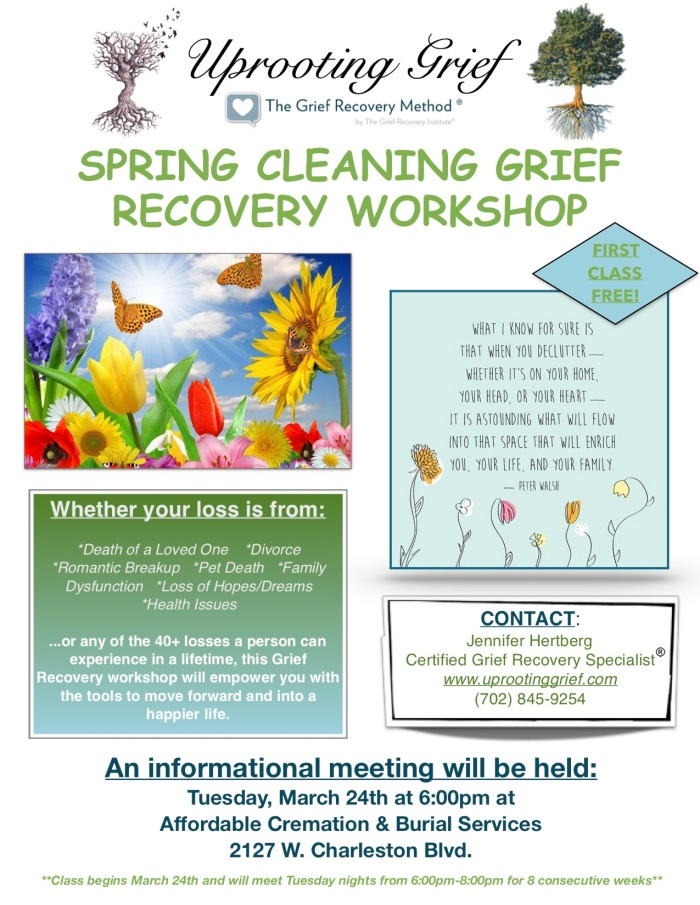 Spring Cleaning 2020 Workshop Flyer - ACBS